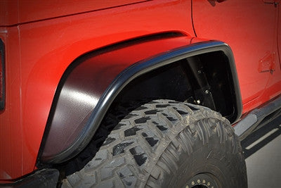 Poison Spyder JK Rear Crusher Flares - Extra Wide (Aluminum)