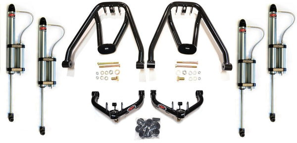 "CST DIRT-SERIES UNI-BALL DUAL SHOCK KIT | 2001-2010 2500 HD / 3500 | (6-8"" LIFT)"