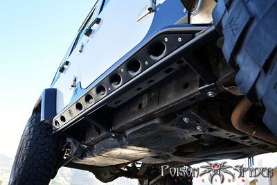 Poison Spyder JK 4 Door Frame Mounted Rocker Knockers
