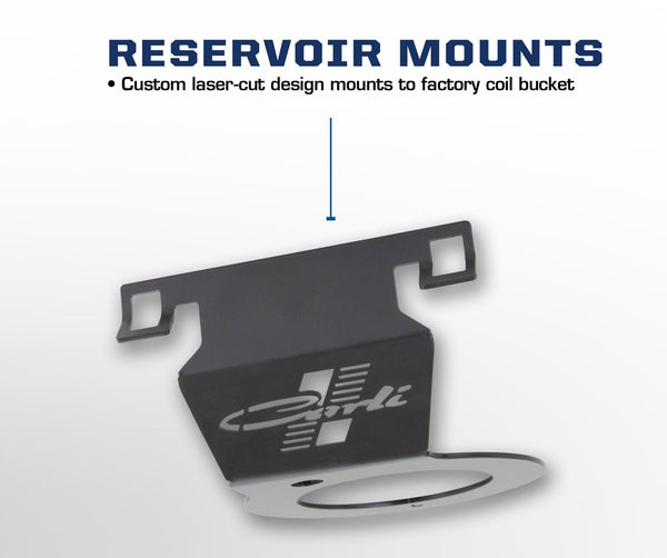 Carli Dodge 2014+ Front Reservoir Mounts