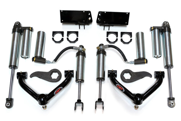 CST Extended Travel Leveling Kit W/ 2.5 Reservoir Shocks 2011-2018 2500/3500 HD 0-3""