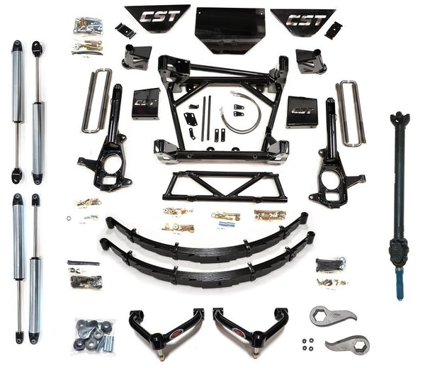 "CST Lift Kit 2011-2015 2500/3500 HD Diesel 10"" W/ 2.0 ""Dirt Series"" Non-Resi Shocks"