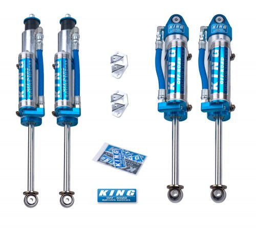KING SHOCKS Jeep JK 07+ 2.5 Piggy Hose Reservoir KIT (with or with out compression adjusters)