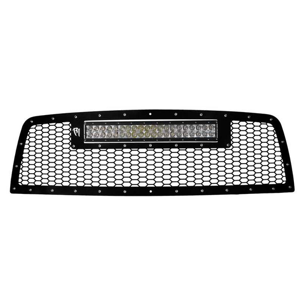 "Rigid 2010-2012 Dodge Ram 2500/3500 Grille with 20"" RDS-Series LED Light Bar"