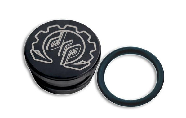 Deviant Billet Resonator Plug for 2004.5-10 GM 6.6L Duramax
