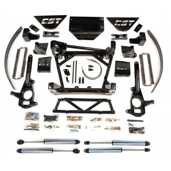 "CST Lift Kit 2011-2018 2500/3500 HD 8-10"" ALL STAGES ADD-A-LEAF"