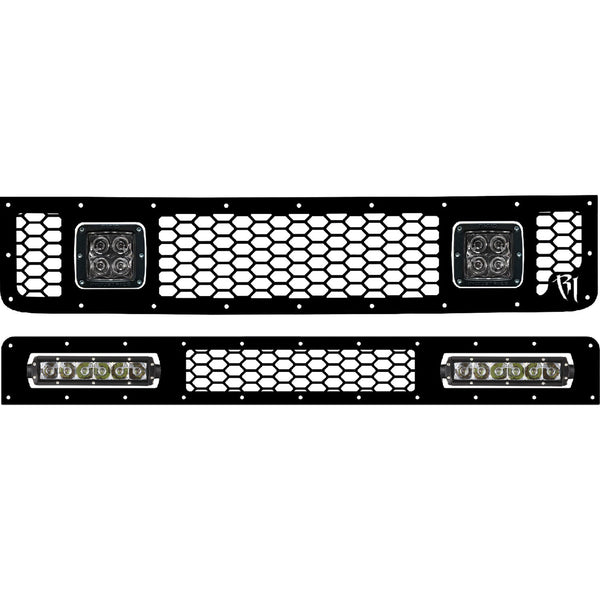 Rigid 2005-2014 Toyota FJ Cruiser LED Grille Kit