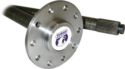 Yukon alloy replacement left hand rear axle for Dana 44 (Jeep Rubicon) with 30 splines. Yukon rear axles come with a one year warranty against manufacturing defects.
