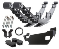 "Carli Dodge 19+ 3500 Progressive Leaf Spring, 1"" Lift, Auto-Leveling Air Suspension"