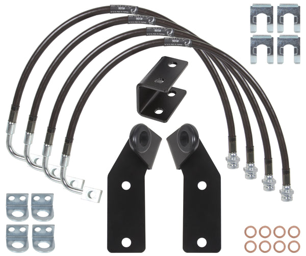 Carli Jeep Brake Line Kit 07-18 JK