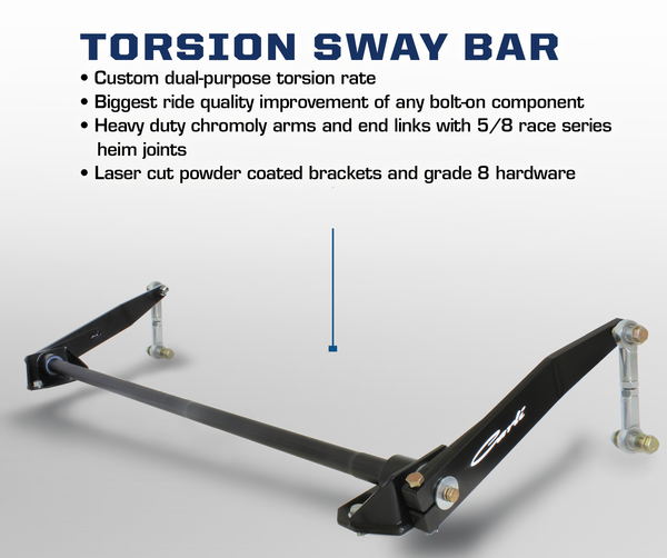 Carli Dodge Torsion Sway Bar 2003-2012
