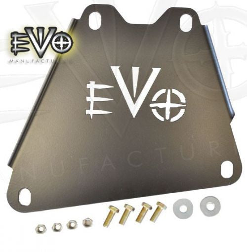EVO MFG Jeep JK 2007-2011 ProTek Auto Transmission to Oil Connection Skid