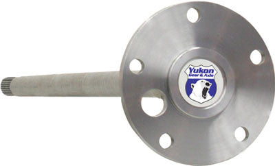 "Yukon 1541H alloy left hand rear axle for Ford 9"" ('76-'77 Bronco) with length of 27-3/16"" and 31 splines. for use with 11"" x 2.25"" brakes"". Yukon 1541H alloy axles offer a strength increase over stock while retaining a low cost. Yukon 1541H alloy rear axles come with a one year warranty against manufacturing defects.  Uses set20 bearings."