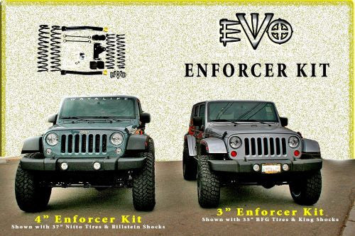 EVO MFG Jeep JK Enforcer Package