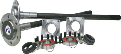 "Yukon 1541H alloy replacement rear axle kit for Dana 60/Toyota Hybrid.  axles in kit have a length of 30"", 4"" inches of spline and 35 splines. Includes seals, bearings, and housing ends.  Yukon 1541H alloy axles offer a strength increase over stock while retaining a low cost. Yukon 1541H alloy rear axles come with a five year warranty against manufacturing defects."