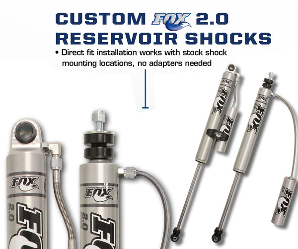 "Carli Dodge 3"" Backcountry 2.0 Shock Package 03-13"
