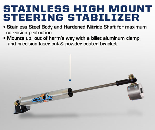 Carli Dodge 2014+ High Mount Steering Stabilizer