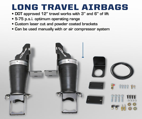 Dodge Long Travel Air Bags