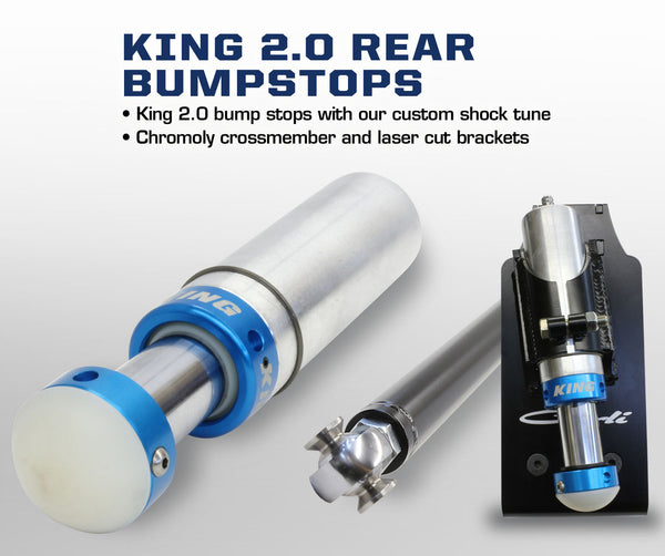 King 2.0 Rear Bumpstops