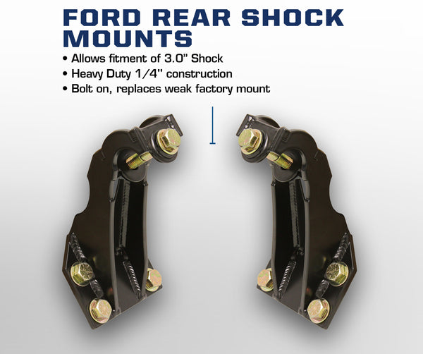 Carli Ford Rear Shock Mounts 05-16