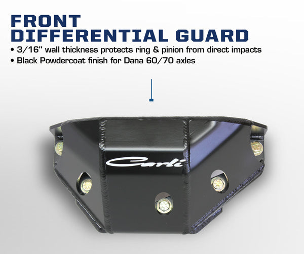 Carli Ford Front Differential Guard 05+