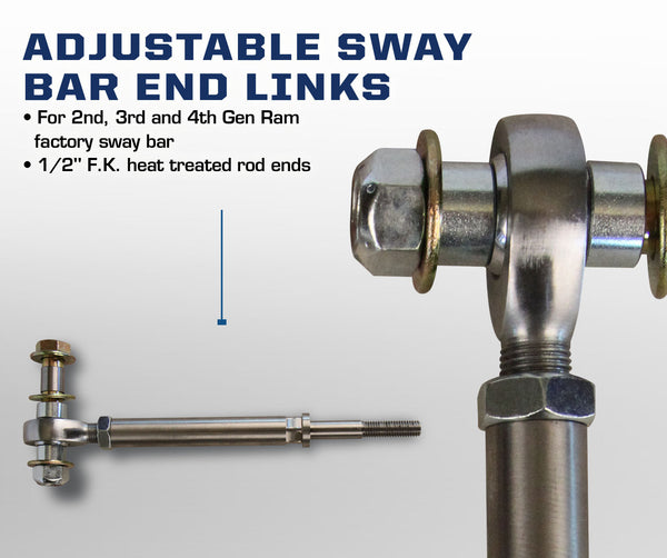Dodge Adjustable Sway Bar End Links
