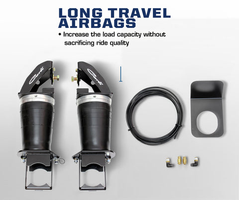 Carli Long Travel Airbags Ford