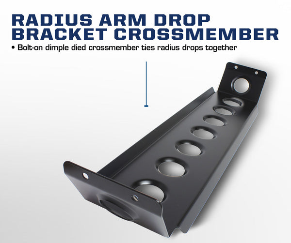 Carli Ford Radius Arm Drop Bracket 05-16