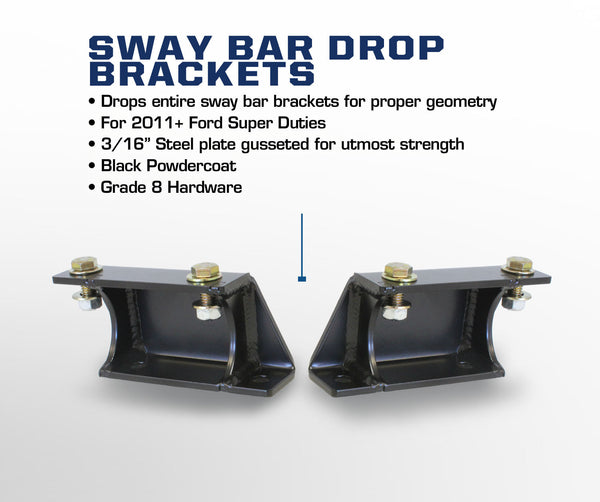 Carli Ford Sway Bar End Links and Drops 05-16