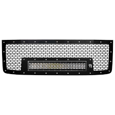 "Rigid 2011-2014 GMC 2500 Grille with 20"" RDS LED Light Bar"