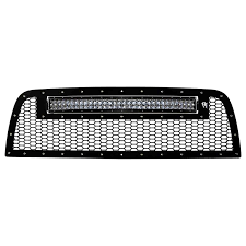 "Rigid 2013-2016 Dodge Ram 2500/3500 Grille with 30"" RDS LED Light Bar"