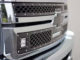 Rigid 2011-2014 Chevy 2500/3500 LED Grille Kit