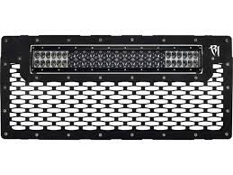 "Rigid 2007-2016 Jeep JK Grille 20"" E-Series"