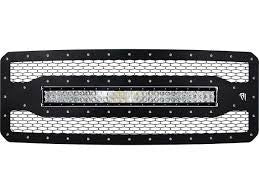 "Rigid 2011-2016 Ford F-250 Grille With 30"" RDS-Series LED Light Bar"
