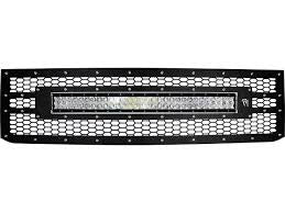 "Rigid 2015-2016 Chevy 2500/3500 Grille with 30"" RDS LED Light Bar"