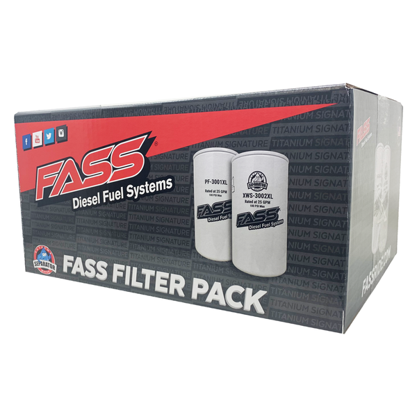 FASS Diesel Fuel Systems XL Filter Pack