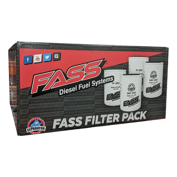 FASS Diesel Fuel Systems Filter Pack