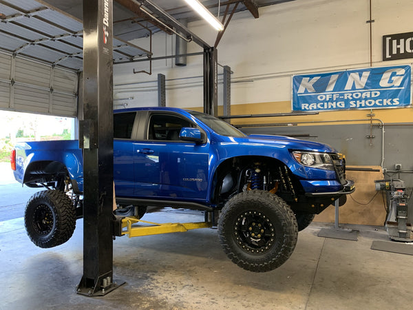 Kibbetech 2015 to current GM Colorado/Canyon/ZR2 Long travel kit