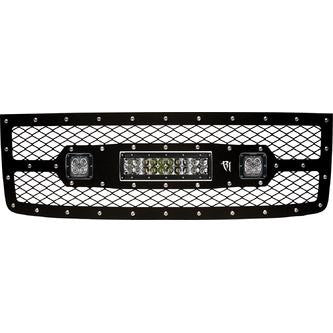 "Rigid GMC 1500 2011-2013 Grille Kit - 10"" E-Series and Pair Dually D2"