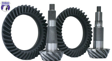 Yukon Ring & Pinion sets give you the confidence of knowing you're running gears designed for the harshest of conditions. Whether it's on the street, off-road, or at the track; Yukon ring & pinion sets deliver unrivaled performance & quality.    Yukon uses the latest designs and manufacturing technologies to provide a quiet running gear that is strong and easy to set up. All Yukon ring & pinion sets come standard with a one-year warranty. This is a fine spline pinion which takes a 29 spline yoke.