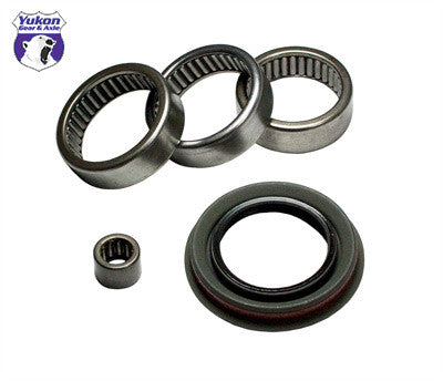 "Yukon axle bearing & seal kits are specially designed for each application & use all high quality bearings & seals.   Left, Right, and intermediate axle pilot bearings and seal kit for 7.25"" IFS Chrysler. This axle bearing & seal kit services one side only."