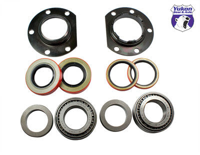 "Yukon axle bearing & seal kits are specially designed for each application & use all high quality bearings & seals.   8.75"" Chrysler axle bearing adjuster & seal kit Right hand adjuster, left hand plate, axle bearings & seals. Services both sides."