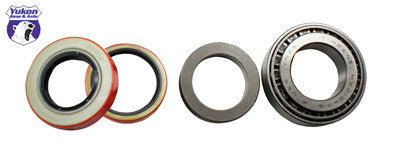 "Yukon axle bearing & seal kits are specially designed for each application & use all high quality bearings & seals.   Axle bearing with inner and outer seals (one side) for 8.75"" Chrysler. This axle bearing & seal kit services one side only."