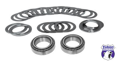 Yukon Carrier installation kits are great, low cost kit for carrier changes such as Positraction or locker upgrades.    Carrier installation kit for AMC Model 35 differential with 30 spline upgraded axles. This kit contains carrier bearings, races and shims.