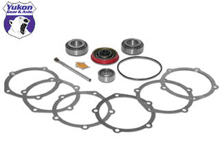 Yukon Pinion installation kits are a terrific solution for gear installation on lower mileage vehicles where the carrier bearings & races can be reused.    This kit uses  high quality bearings and races along with a high quality pinion seal and small parts. Included in this kit are the pinion bearings and races, pilot bearing (if applicable), crush sleeve (if applicable), complete pinion shim kit, thread locker, and marking compound with brush. Yukon does extensive research for each application to make sure your kit will arrive with all the correct parts you need to install your pinion gear.