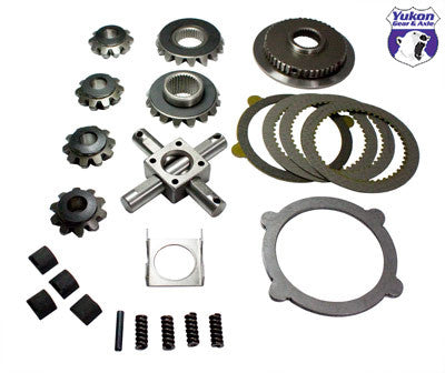 "Yukon Trac Loc internals for 8"" & 9"" Ford, 31 spline, includes hub & clutches. Yukon uses higher quality materials and better techniques than OEM to ensure a longer lasting spider gear set. This kit does not include clutches. All components come with a one year warranty against manufacturing defects."