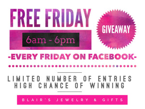 Free Friday Giveaways!