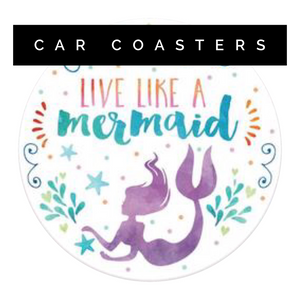 Clementine Design Car Coasters