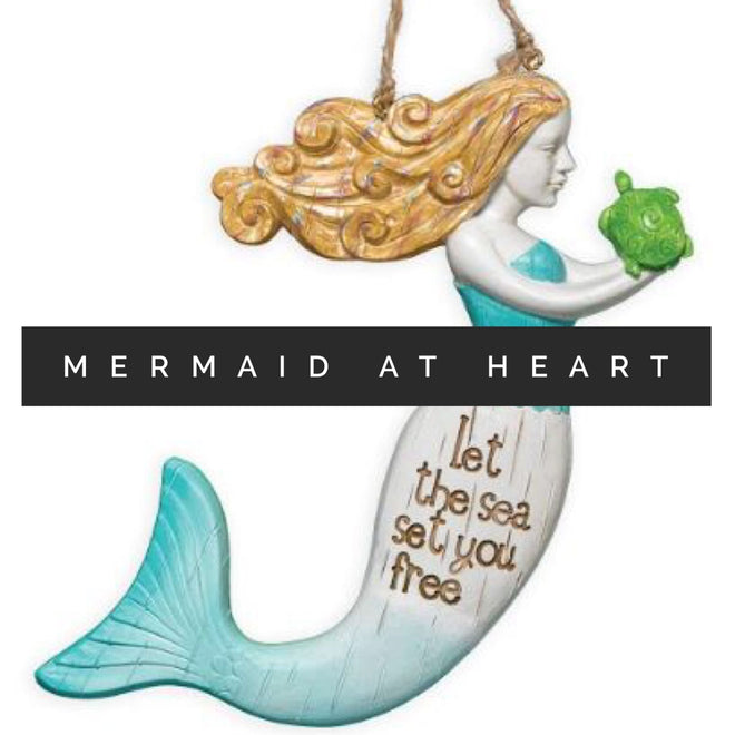 Mermaid at Heart by Clementine Design