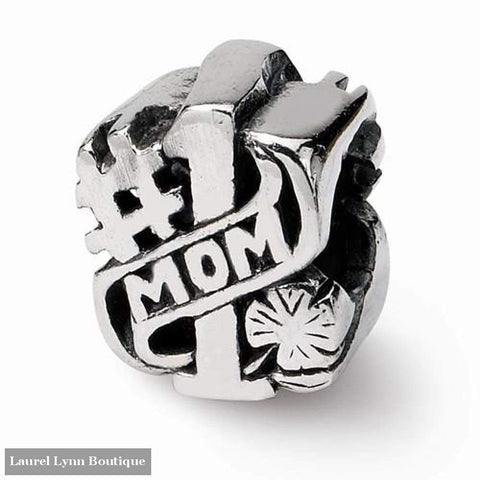 #1 Mom Bead - Qrs1623 - Reflection Beads - Blairs Jewelry & Gifts